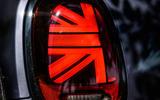 Mini JCW GP 2020 UK first drive review - rear lights