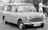 Mini Traveller original - static front