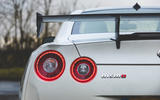 Nissan GT-R Nismo 2020 UK first drive review - rear lights