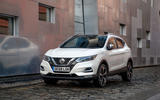 Nissan Qashqai 2018 UK first drive review - static front