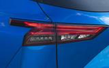 8 Nissan Qashqai 2021 UK FD rear lights