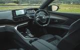 Peugeot 5008 2020 UK First Drive review - dashboard
