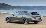 Peugeot 508 SW PureTech 225 GT 2019 UK first drive review - static rear
