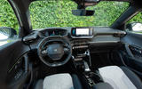 Peugeot e-2008 2020 first drive review - dashboard