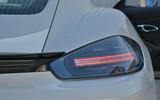 Porsche 718 Cayman GTS 2018 UK review rear lights