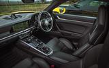 Porsche 911 Carrera 4S 2020 - interior
