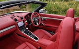 8 Porsche Boxster 25 years edition 2021 uk fd cabin