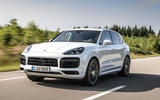 Porsche Cayenne Turbo S E-hybrid 2019 first drive review - on the road