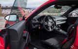 Porsche Cayman T 2019 first drive review - interior