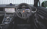 Porsche Panamera GTS 2019 UK first drive review - dashboard