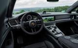 Porsche Panamera GTS Sport Turismo 2020 first drive review - dashboard