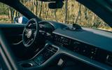 8 Porsche Taycan Cross Turismo 2021 LHD cabin