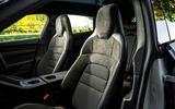 8 Porsche Taycan Cross Turismo 4S 2021 UK FD front seats