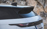 Range Rover Evoque 2019 first drive review - tailgate