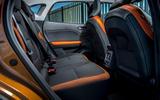 Renault Captur E-Tech PHEV RHD 2020 UK first drive review - rear seats
