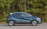 Renault Captur Iconic TCe 90 2018 UK first drive - on the road side