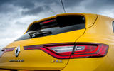 Renault Megane RS 300 Trophy 2019 UK first drive review - rear lights