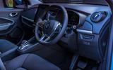 Renault Zoe 2020 UK first drive review - cabin