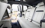 Rolls-Royce Cullinan 2018 first drive rear seats
