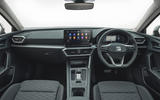 Seat Leon eHybrid FR 2020 UK first drive review - dashboard