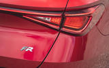 8 Seat Leon estate FR 2021 UK first drive review rear lights