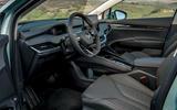8 Skoda Enyaq 2021 LHD UK first drive cabin