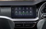 Skoda Octavia IV 2020 first drive review - infotainment