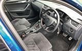 Skoda Octavia vRS diesel longterm review cabin