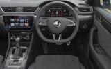 Skoda Superb Estate Sportline 2020 UK first drive review - dashboard