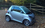 Smart Fortwo 1.0 Brabus Cabriolet - stationary side