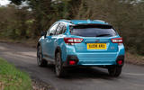 Subaru XV e-Boxer 2020 UK first drive review - on the road rear