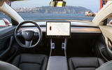 Tesla Model 3 2018 review dashboard