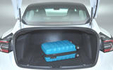 Tesla Model 3 Standard range Plus 2019 first drive review - boot