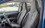 Toyota Aygo 2018 review seats