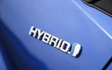 Toyota C-HR 2018 long-term review hybrid badge