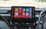 8 Toyota Camry 2021 FD Infotainment