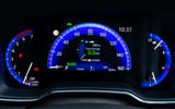 Toyota Corolla hatchback 1.8 hybrid 2019 UK review - digital instruments