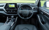 8 Toyota Highlander 2021 UK first drive review dashboard