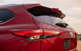 Toyota Highlander Hybrid 2020 first drive review - rear lights