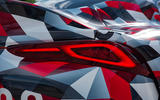 Toyota Supra 2019 prototype first drive review rear lights