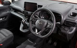 Vauxhall Combo Life 2018 UK first drive review steering wheel