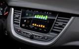 Vauxhall Grandland X Hybrid4 2020 first drive review - infotainment