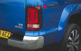 Volkswagen Amarok Aventura 2019 first drive review - rear lights
