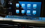 Volkswagen Golf 2020 first drive review - infotainment UI