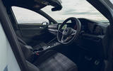8 Volkswagen Golf GTD 2021 UK first drive review cabin