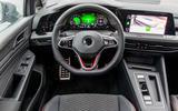 Volkswagen Golf GTI Clubsport 2020 first drive review - dashboard
