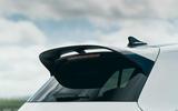 8 Volkswagen Golf GTI Clubsport 45 2021 UK FD spoiler