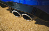 8 Volkswagen Golf R 2021 UK first drive review exhausts