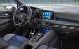 8 Volkswagen Golf R Estate 2021 first drive review dashboard