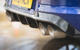 8 Volkswagen Golf R performance pack 2021 UK FD exhausts